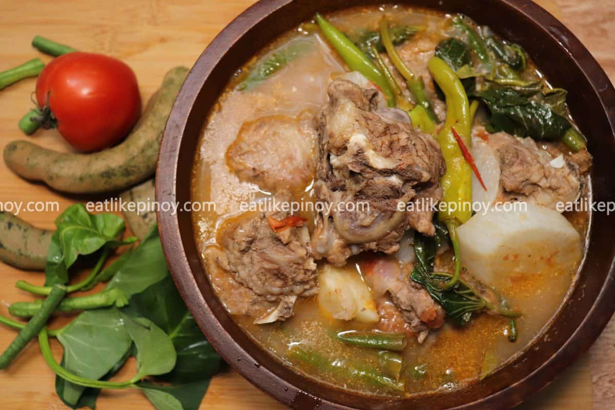 How To Cook The Best Pork Sinigang Eat Like Pinoy