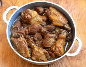 Filipino Adobo in a pot