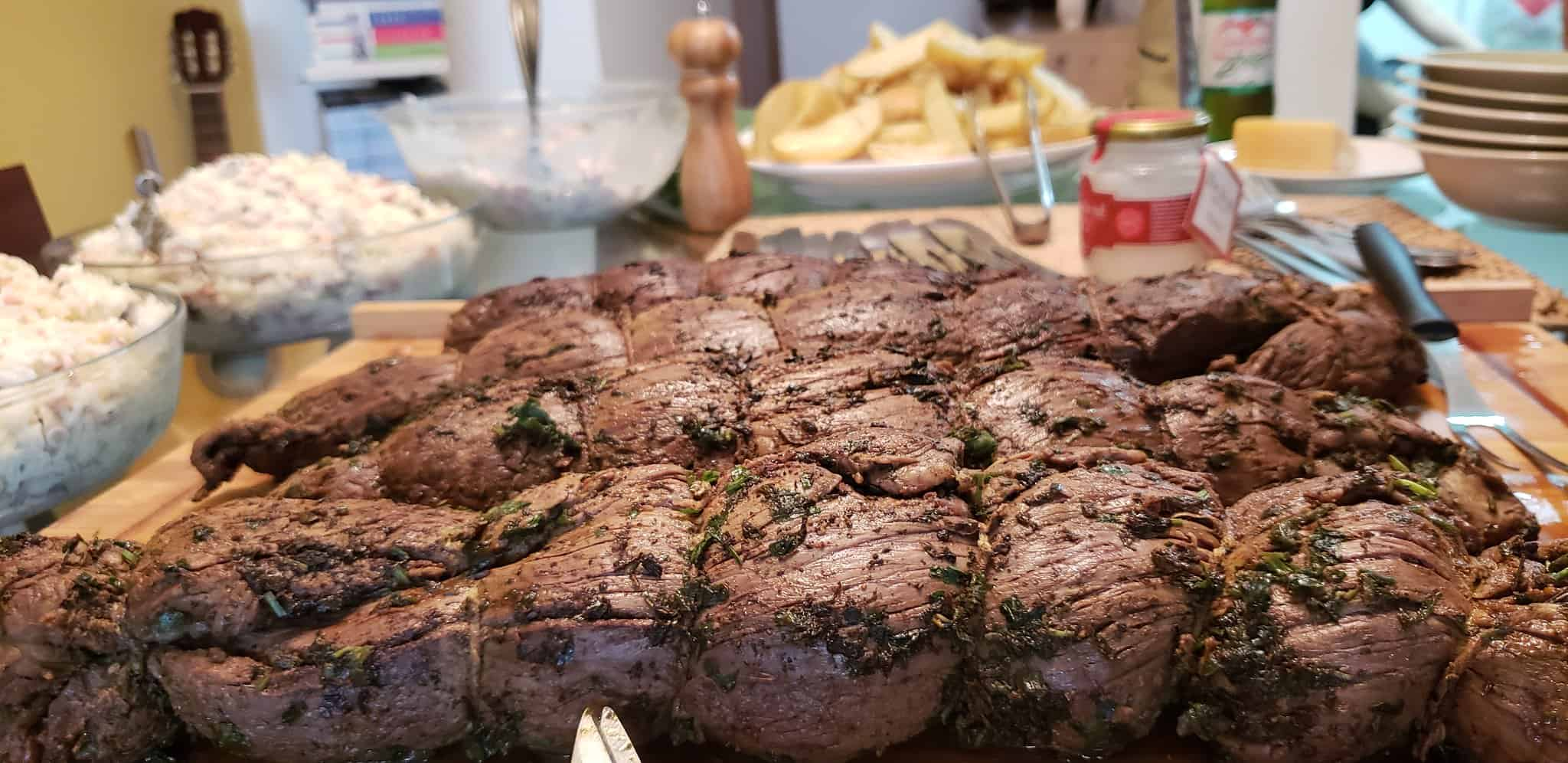 delicious whole roast beef